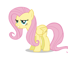Fluttershy is disappoint by CassidyCreations