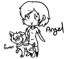 Angel And Gunner by Tess-Is-Epic
