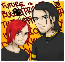 Fun Ghoul and Party Poison by kelly42fox