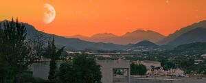 Sunset in Altea by FaultofDan