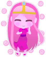 Princess Bubblegum by MyaMisguided