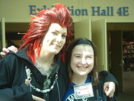 Axel and Myself by AnimeOCD1323