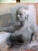 underpainting of mirian by danjacob