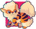 059 Arcanine by Miss-Glitter