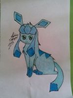Glaceon drawing by Miku-chan9