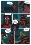 COMIC:The Jungle Girl-PAGE 1 by Nippy13