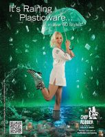 Raining Ad for Chef Rubber by Battledress
