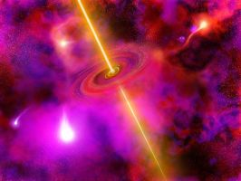 First black hole by vissroid