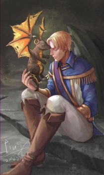 Anduin+Wrathion by pingping93