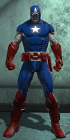 Captain America (DC Universe Online) Updated by Macgyver75