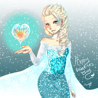 Love can melt a frozen heart by BassoonistfromHell