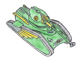 Combine Malice Tank concept by packie1984