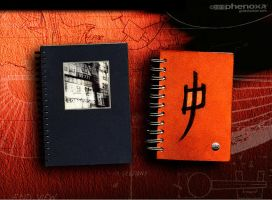 Sketch Works: Book Project - Covers by phenoxa