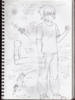 OC concept art on DA part 2 by DuskAndCovers