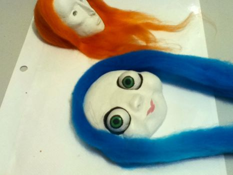 2 New Sculptures by daughter-of-Isis