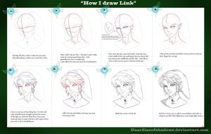 How I Draw Link by GuardianOfShadows