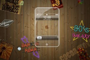 Glass IPhone by KiSsMe88