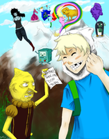 Adventure Time Desu by Argus1002