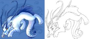 Water Dragon Thing by Kuitsuku