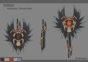 Monster Hunter [Eclipse Charge Blade] by BlazingCobalt