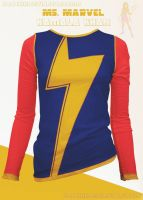 Ms. Marvel Shirt!  [Kamala Khan] by prathik