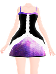 [MMD] Galaxy Dress DOWNLOAD by MijumaruNr1