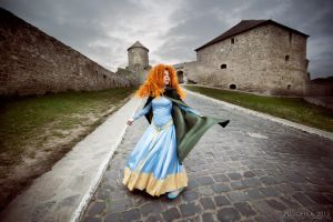 Merida, changing winds by shua-cosplay