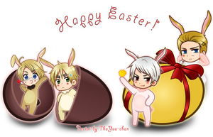 APH - Happy Easter! by ThaYuu-chan