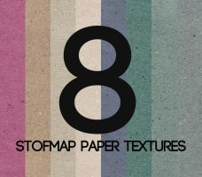 8 Stofmap Paper Textures by leoaw