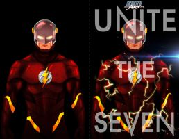 Unite the Seven - The Flash - Comparsion by sahinduezguen