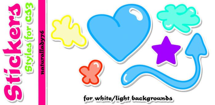 Sticker:Styles: by naturallady76