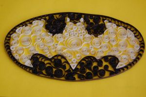 Paper Filigree Batman Logo by OcularFracture