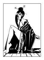 Sonya Key:Executive Assistant Iris ink version by shiprock