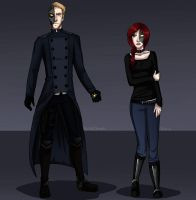 Constantin and Sasha - Reference Sheet by BeastQueen