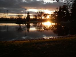 Evening Duck Pond by Pentacle5