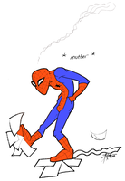 Sucks to be Spiderman by LoopyWolf
