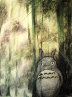Totoro-spirit of the forest by LoSqui