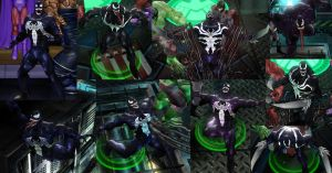 Venom Marvel Ult. Alliance by DarkMarkZX
