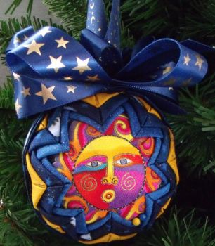 Celestial Dreams Quilted Ornament by Chrissie1370