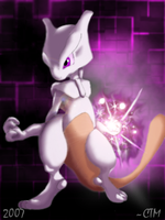 Mewtwo by DrManiacal