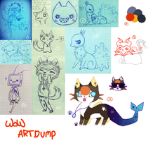 The first and only artdump of 2014. by Ammiterasu