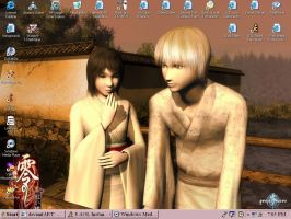 xD Another Fatal Frame desktop by ChaoticBlossoms