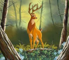 THE PRINCE OF THE FOREST by FERNL