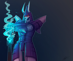 Cyclonus by BlueStripedRenulian