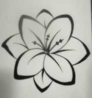 A Plain Flower tattoo by TheMajesticCarnival