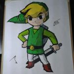 Toon Link - Again - Collab (Finished!!) by JPGraphics7