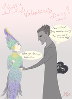 Pitch/Tooth: St. Valentine's Day by ArdisBailey