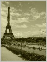 Eiffel Tower. by Sayame-chan