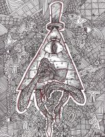 Bill Cipher Dreamcatcher by GNGTNT105
