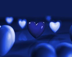blue hearts by ilnanny
